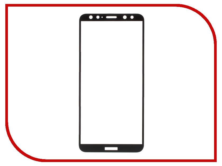 Аксессуар Закаленное стекло Huawei Mate 10 Lite DF Full Screen hwColor-23 Black аксессуар закаленное стекло huawei p9 lite df hwsteel 13