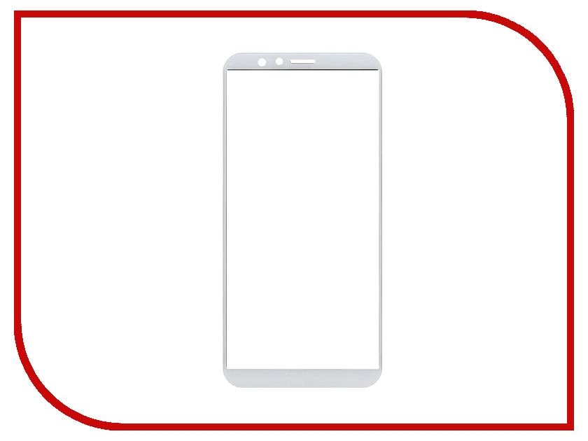 Аксессуар Закаленное стекло Huawei Honor 7X DF Full Screen hwColor-24 White защитное стекло df hwcolor 24 для huawei honor 7x 1 шт черный [df hwcolor 24 black ]