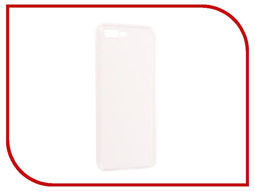 Аксессуар Чехол для APPLE iPhone 7 Plus / 8 Plus Onext Silicone Transparent 70523 аксессуар чехол rock elite series для iphone 7 plus brown