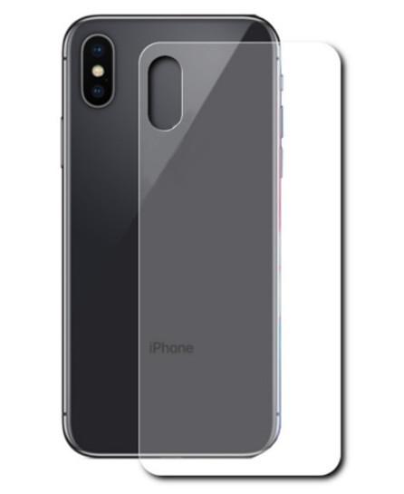 Аксессуар Защитное стекло Onext для APPLE iPhone X Back 41504 аксессуар защитное стекло onext for iphone 5 5s 5c