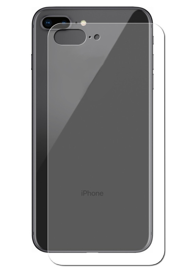 Аксессуар Защитное стекло Onext для APPLE iPhone 8 Plus Back 41503 аксессуар защитное стекло onext for iphone 5 5s 5c