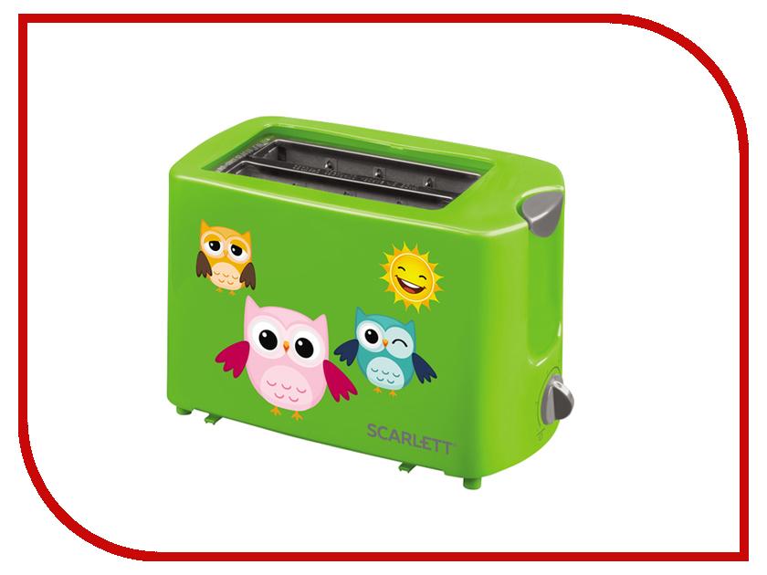 Тостер Scarlett SC-TM11011 Green масляный радиатор scarlett sc oh67b02 7
