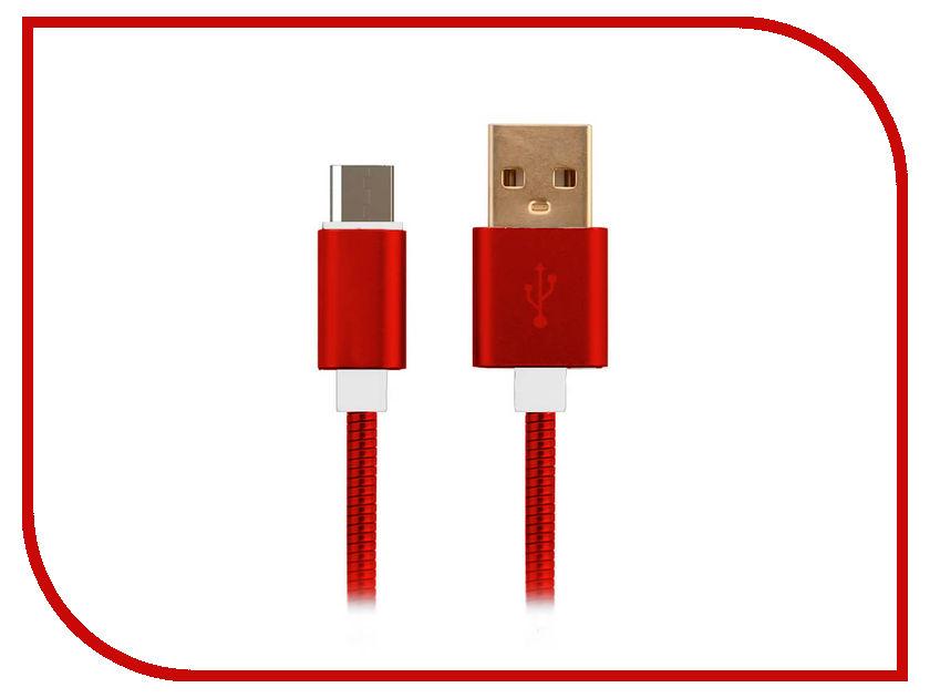 Аксессуар Moisture USB - microUSB 2.1A Red