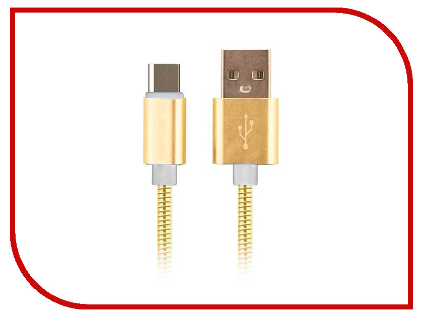 Аксессуар Moisture USB - microUSB 2.1A Gold
