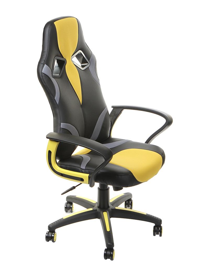 Компьютерное кресло TetChair Runner Black-Yellow 11738