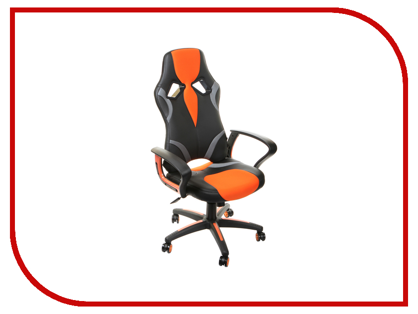 Компьютерное кресло TetChair Runner Black-Orange 36-6/tw07/tw-12 tetchair рейсер gт