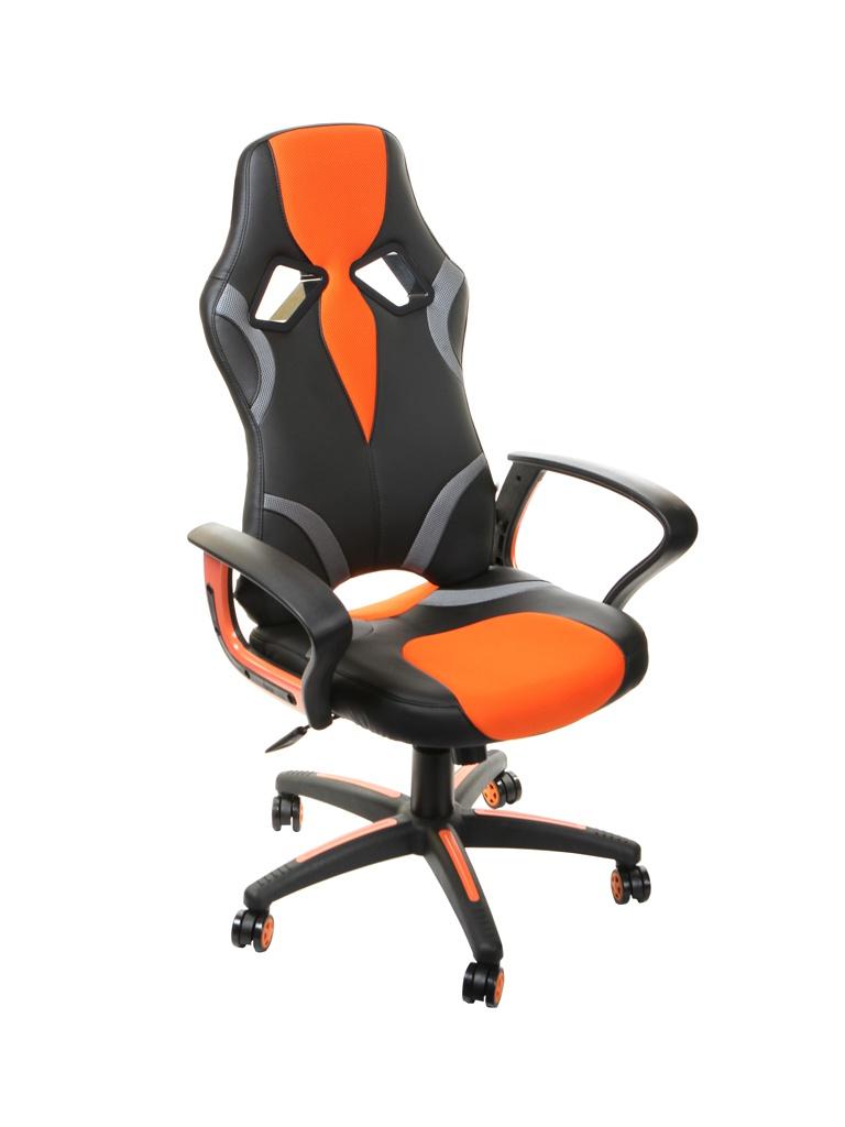 Компьютерное кресло TetChair Runner Black-Orange 11735