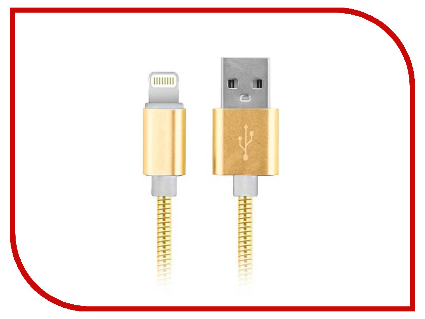 Аксессуар Moisture USB - Lightning 2.1A 8 pin Gold аксессуар pineng pn 305 usb lightning gold
