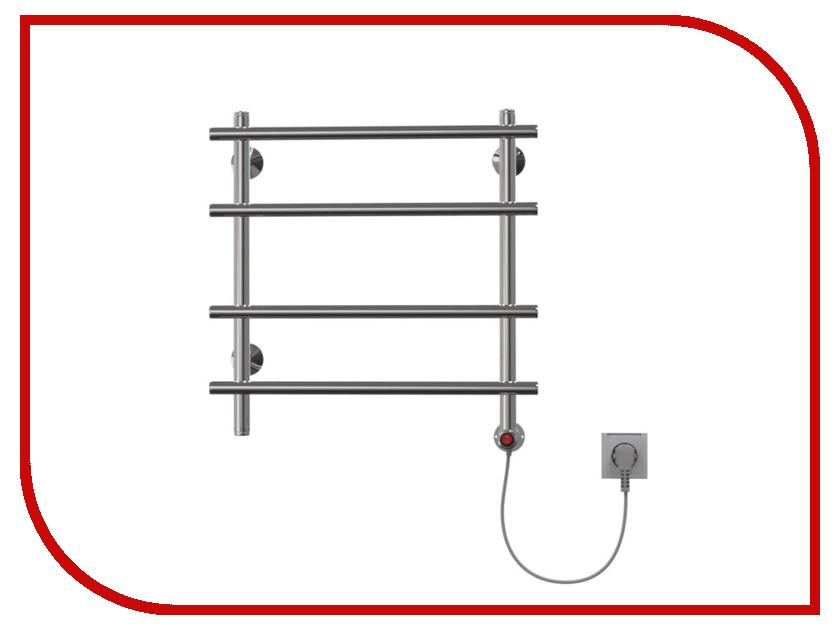 Полотенцесушитель Арго Лесенка-Э 500x500 35Вт К-универсальное подключение справа 06504 электрический полотенцесушитель пк парус 500x500