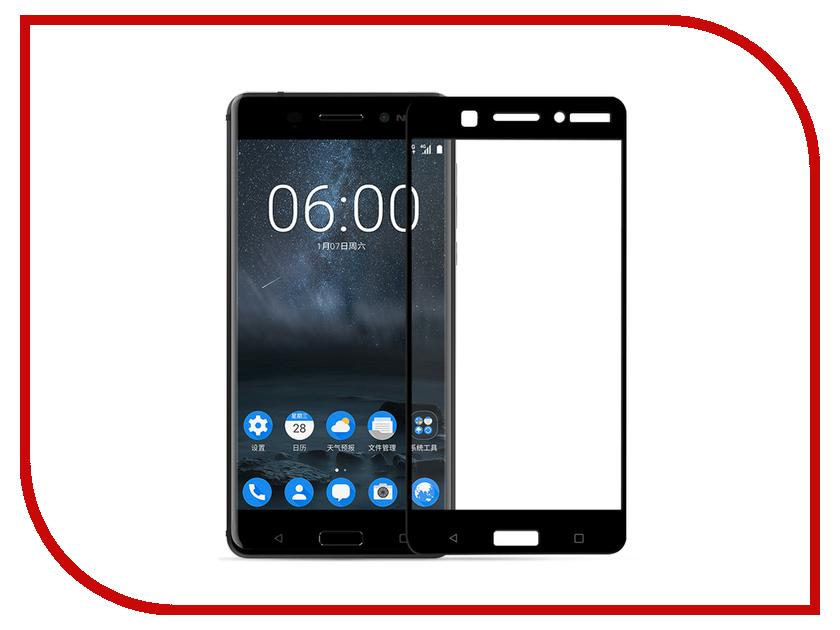 Аксессуар Защитное стекло для Nokia 8 LuxCase 3D Black frame 77374 аксессуар защитное стекло для huawei honor y9 2018 luxcase 3d full screen black frame 77921
