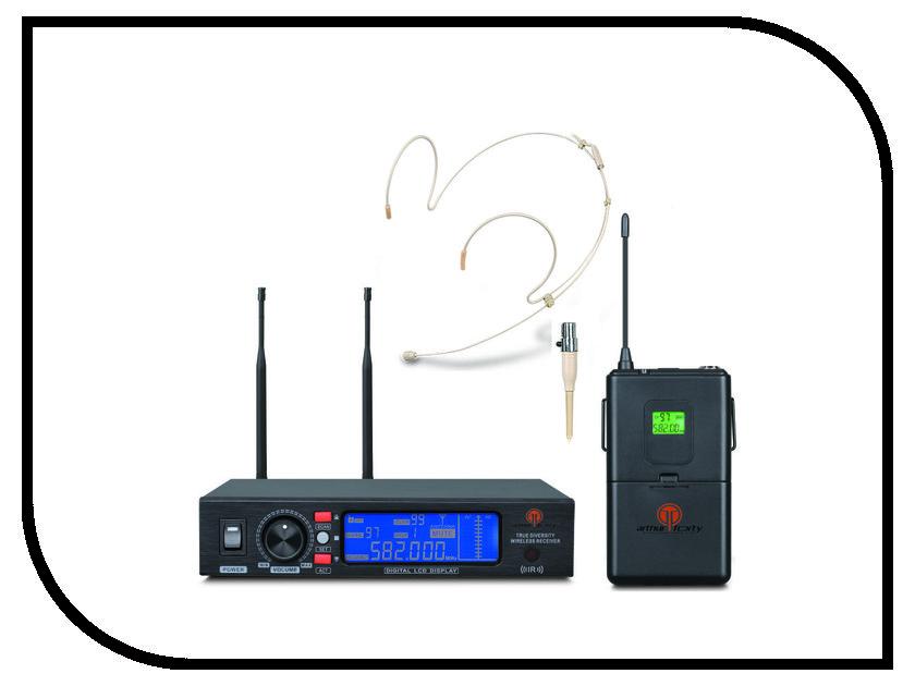 Радиосистема Arthur Forty PSC UHF U-990B микрофон arthur forty psc af tie mini jack