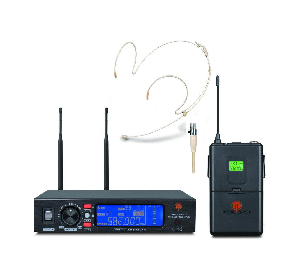 лучшая цена Радиосистема Arthur Forty PSC UHF U-990B