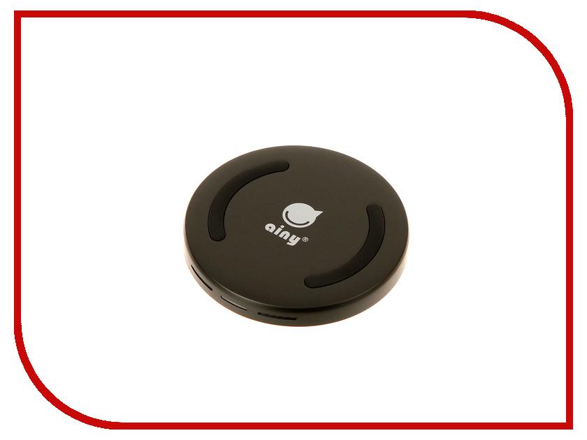 Зарядное устройство Ainy EF-015A Black зарядное устройство ainy 2xusb 1a 2 4a eb 018a black