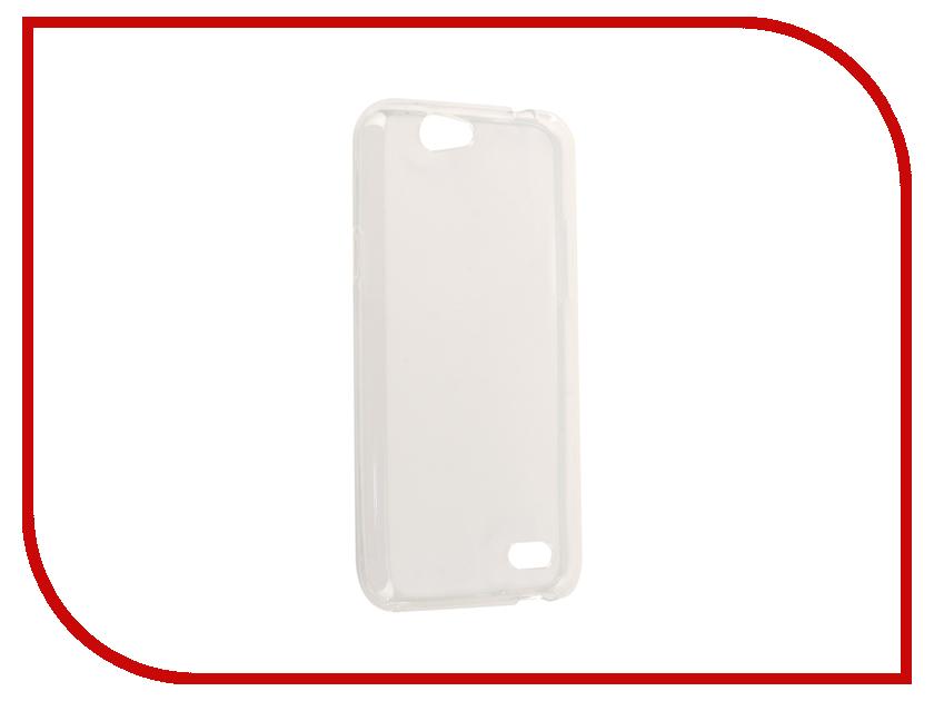 Аксессуар Чехол для ZTE Blade A465 Zibelino Ultra Thin Case White ZUTC-ZTE-A465-WHT смартфон zte blade a465 4g black