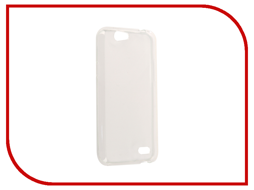 Аксессуар Чехол ZTE Blade A465 Zibelino Ultra Thin Case White ZUTC-ZTE-A465-WHT skinbox флип кейс zte blade x5