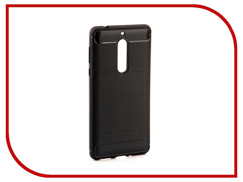 Аксессуар Чехол Nokia 5 Zibelino Cover Back Elegant Black ZCBE-NOK-5-BLK аксессуар чехол huawei nova 2 zibelino cover back elegant black zcbe hua nov2 blk