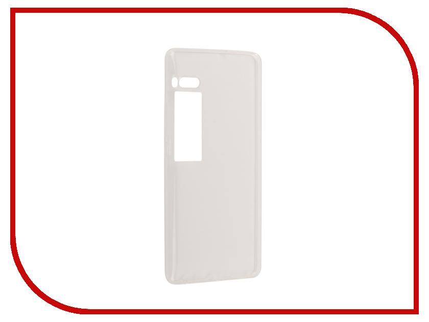 Аксессуар Чехол для Meizu Pro 7 Plus Zibelino Ultra Thin Case White ZUTC-MZU-PRO7-PLS-WHT ikki ultra thin protective 0 2mm pp back case for iphone 6 4 7 translucent white