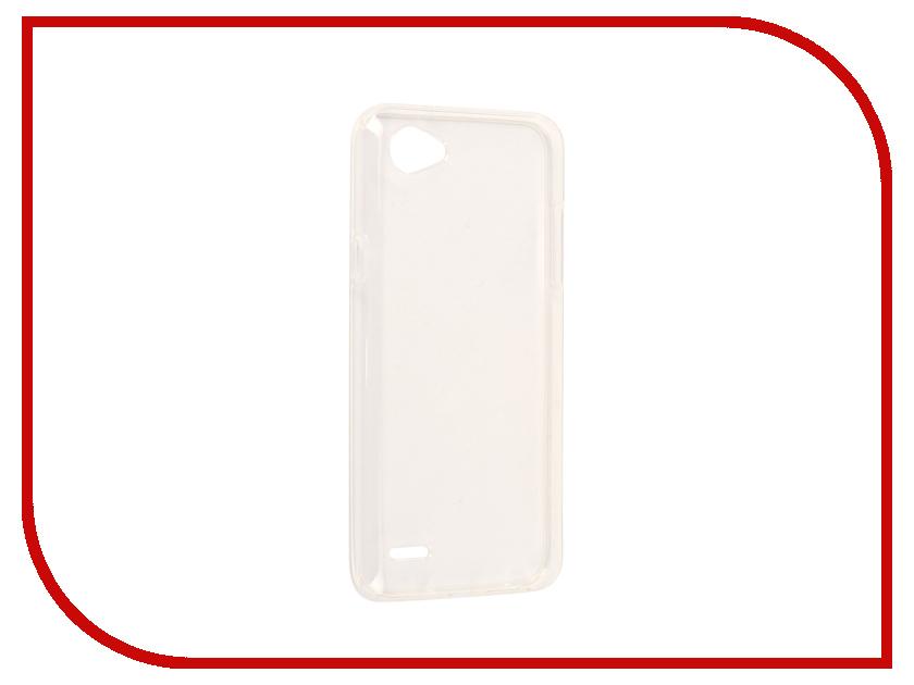 Аксессуар Чехол LG Q6 Zibelino Ultra Thin Case White ZUTC-LG-Q6-WHT аксессуар чехол xiaomi mi max 2 zibelino ultra thin case white zutc xmi max2 wht