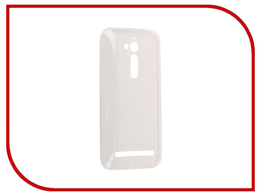 Аксессуар Чехол ASUS ZenFone Go ZB500KG Zibelino Ultra Thin Case White ZUTC-ASU-ZB500KG-WHT аксессуар чехол asus zenfone go zb500kl zibelino ultra thin case white zutc asu zb500kl wht