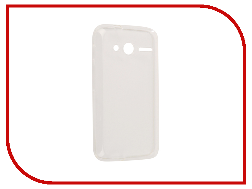 Аксессуар Чехол Alcatel One Touch Pixi 4 4-inch 4034D Zibelino Ultra Thin Case White ZUTC-ALC-4034D-WHT аксессуар чехол alcatel one touch 5010d pixi 4 zibelino classico black zcl alc 5010d blk