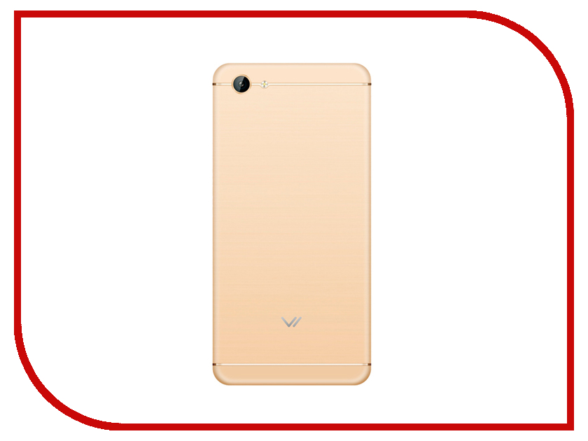 Сотовый телефон Vertex Impress Lotus LTE Gold сотовый телефон vertex impress lagune lte black
