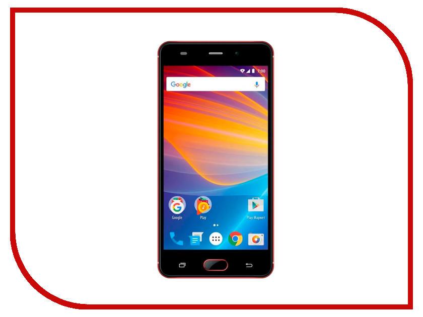 Сотовый телефон Vertex Impress Lotus LTE Red смартфон vertex impress groove gold