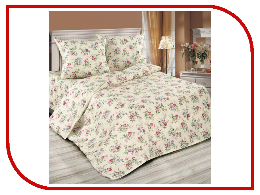 Постельное белье Экзотика 465 Комплект 1.5 спальный Поплин