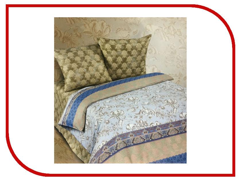 Постельное белье Экзотика 479 Комплект 1.5 спальный Поплин постельное белье экзотика адель комплект семейный поплин
