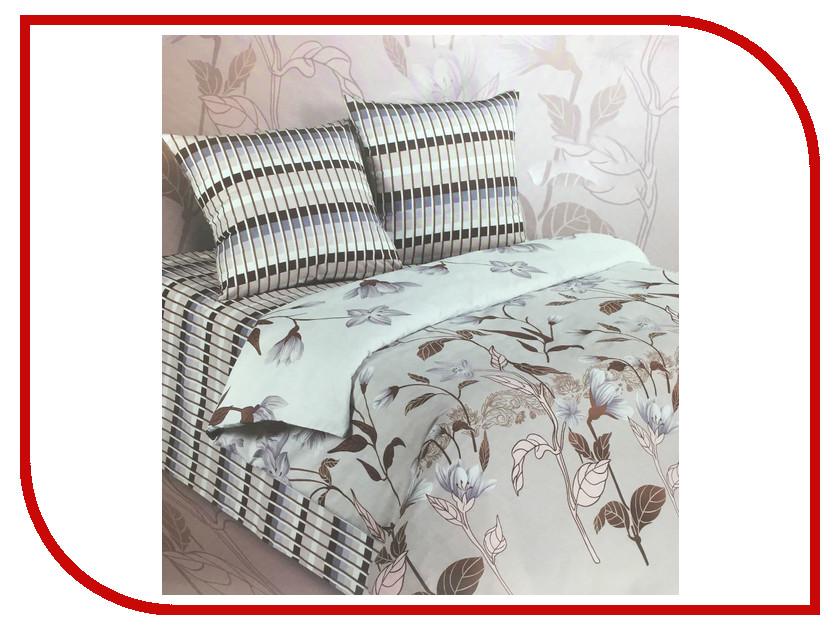 Постельное белье Экзотика 500 Комплект 1.5 спальный Поплин