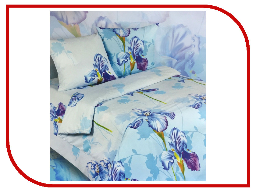 Постельное белье Экзотика Аврора Комплект 1.5 спальный Поплин постельное белье экзотика адель комплект 1 5 спальный поплин