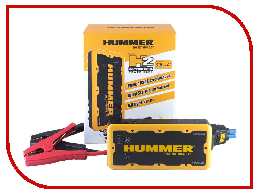 Устройство HUMMER H2 12000mAh rastar 28500 hummer h2
