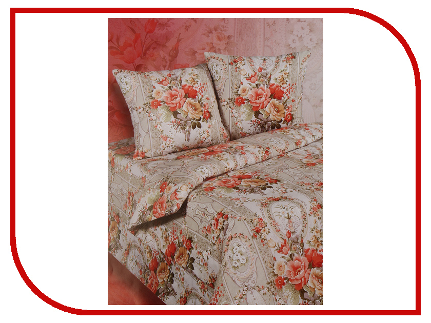 Постельное белье Экзотика 545 Комплект 2 спальный Поплин постельное белье экзотика адель комплект 1 5 спальный поплин