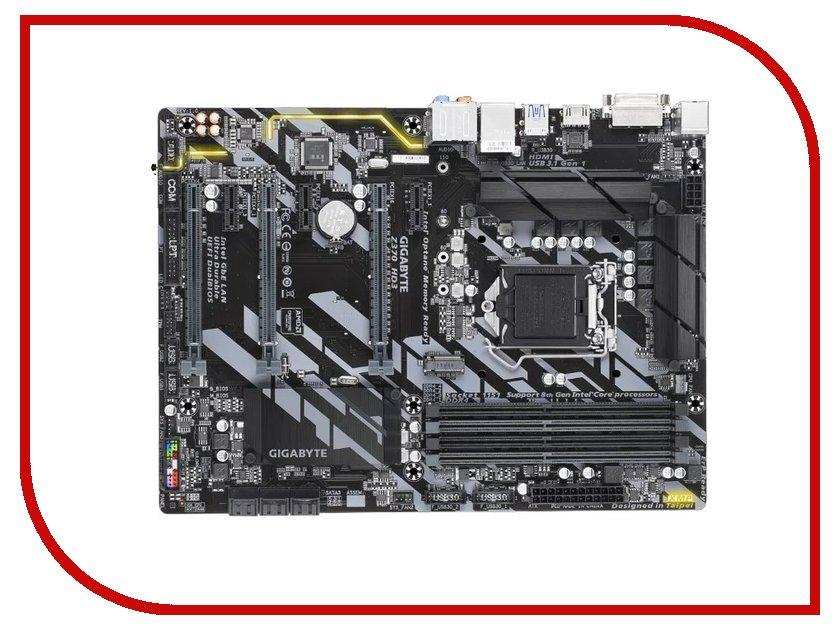 Материнская плата GigaByte GA-Z370-HD3 материнская плата пк gigabyte ga h270 hd3 ga h270 hd3