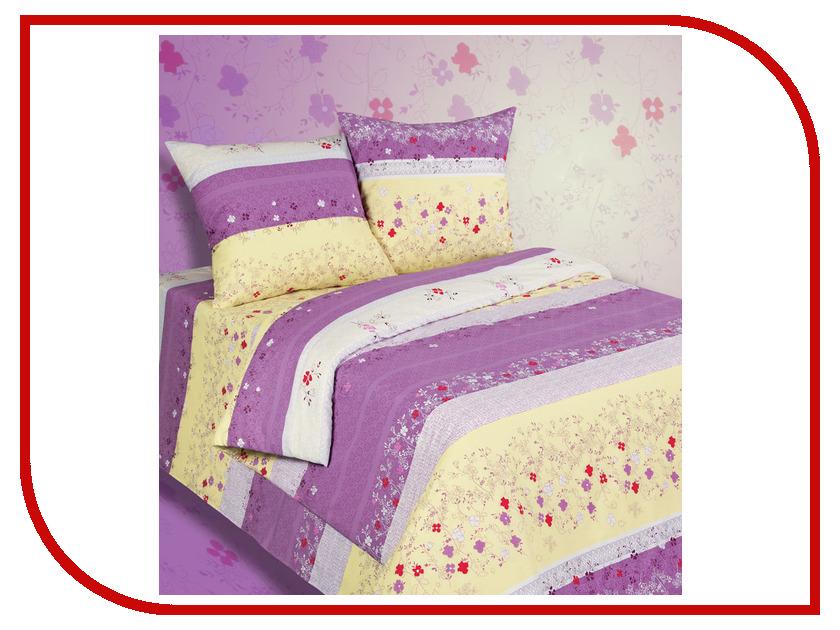 Постельное белье Экзотика 522 Комплект Евро Поплин постельное белье экзотика адель комплект семейный поплин