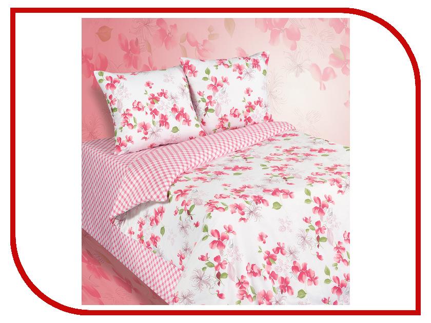 Постельное белье Экзотика 552 Комплект Евро Поплин постельное белье экзотика адель комплект 1 5 спальный поплин
