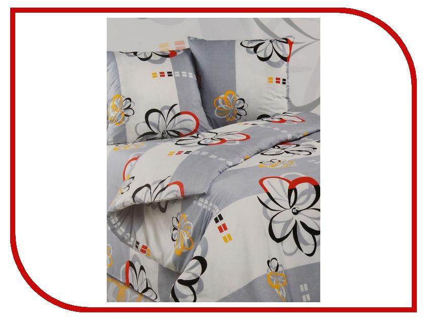 Постельное белье Экзотика Валетта Комплект Семейный Поплин постельное белье экзотика адель комплект 1 5 спальный поплин