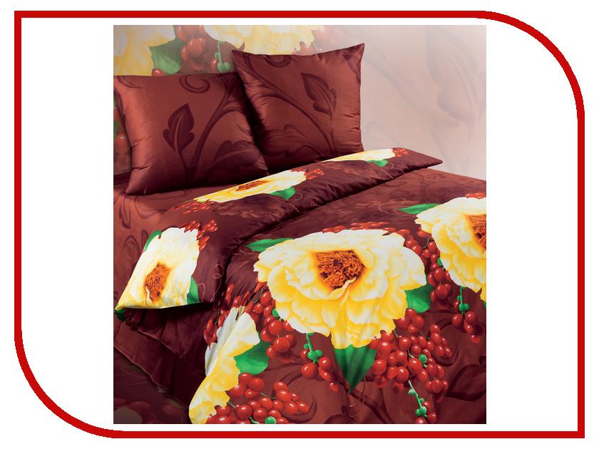 Постельное белье Экзотика 164 Комплект 1.5 спальный Сатин
