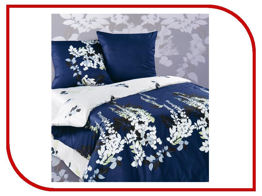 Постельное белье Экзотика Магнолия Комплект Евро Сатин постельное белье экзотика кензо комплект евро сатин