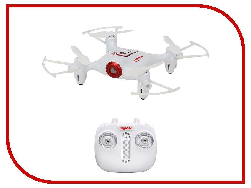 Квадрокоптер Syma X21W PRO White квадрокоптер syma x9s без камеры белый [x9s white]