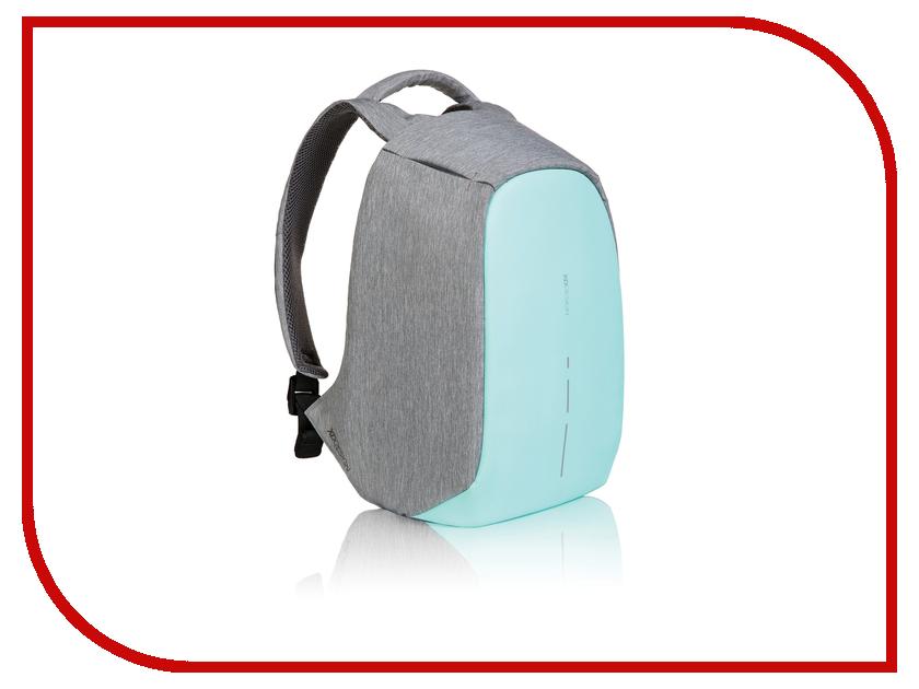 Рюкзак XD Design 14.0-inch Bobby Compact Grey-Turquoise P705.537