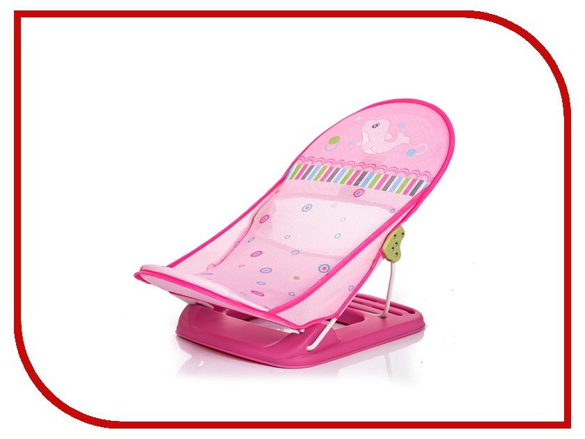 Подставка в ванночку BabyHit BT-02 Pink Dolphie горки и сидения для ванн babyhit подставка в ванночку