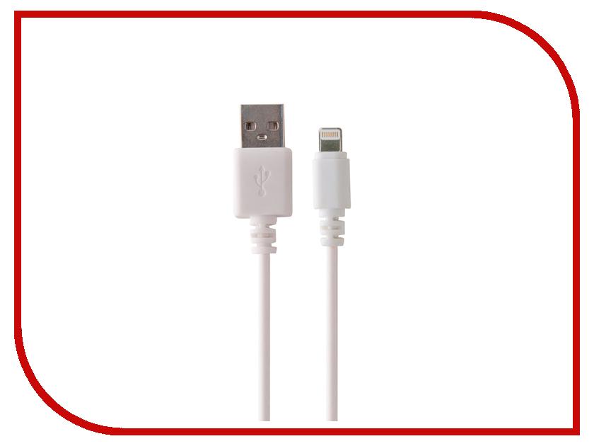 Аксессуар Belsis Lightning - USB A 1m White BW1437