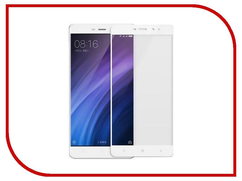 Аксессуар Защитное стекло Xiaomi Redmi 4 Monsterskin 2D Colorful White xiaomi redmi 2 16gb купить