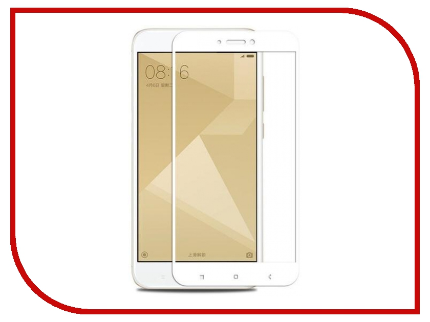 Аксессуар Защитное стекло Xiaomi Redmi 4X Monsterskin 2D Colorful White xiaomi redmi 2 16gb купить