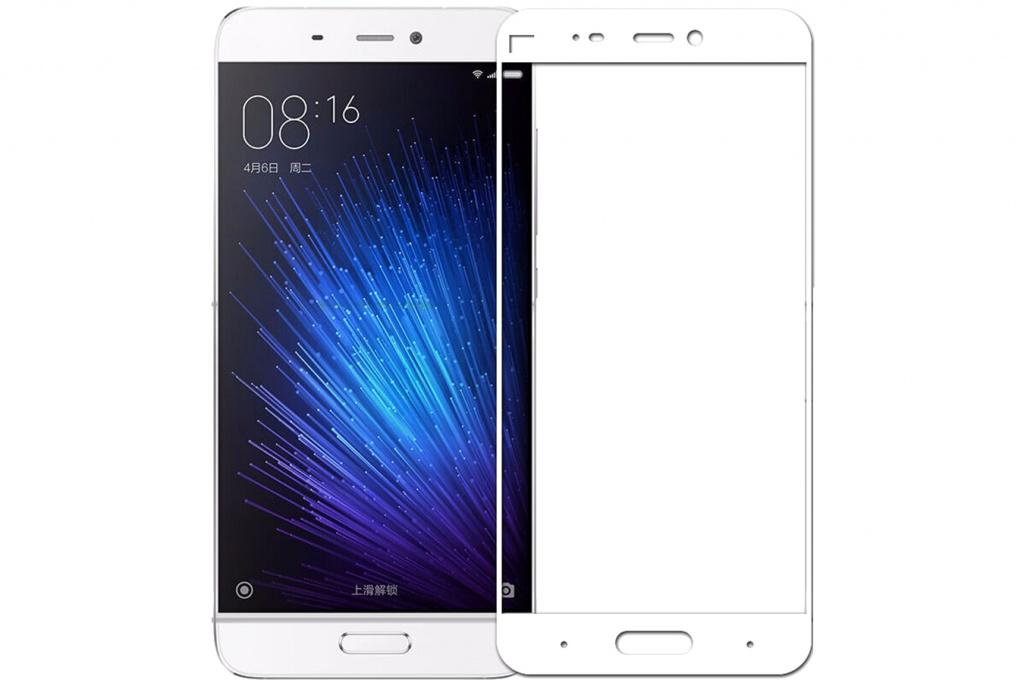 Аксессуар Защитное стекло Innovation для Xiaomi Mi 5 2D Colorful White 10140