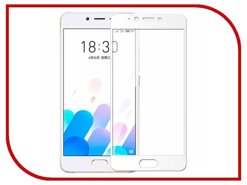 Аксессуар Защитное стекло Meizu E2 Innovation 2D Colorful White аксессуар защитное стекло highscreen fest xl pro luxcase 0 33mm 82179