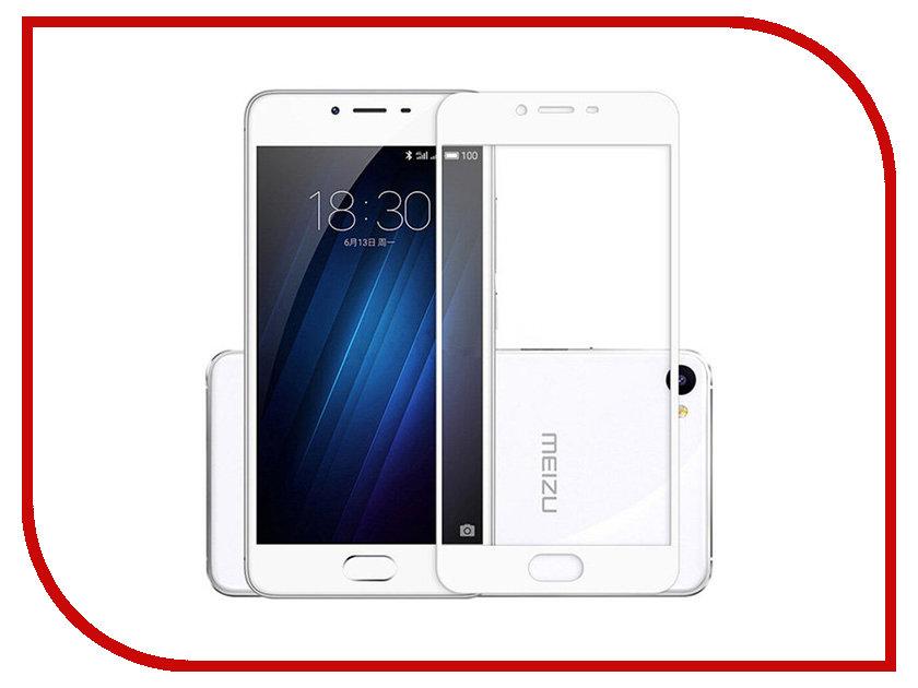 Аксессуар Защитное стекло Meizu 5 Monsterskin 2D Colorful White аксессуар защитное стекло monsterskin 5d для apple iphone 6 plus white