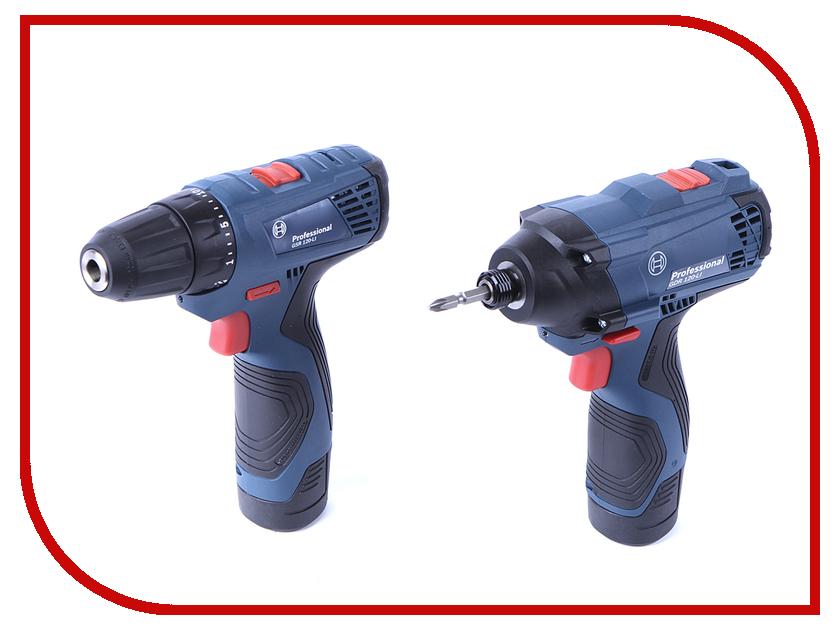 Набор инструмента Bosch GDR 120-LI + GSR 120 LI Combo 06019F0002 bosch gsr 10 8 2 li 0601992906