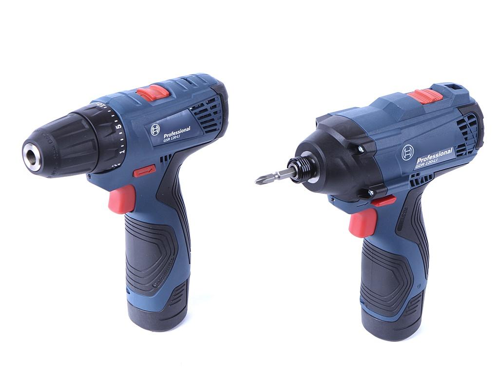 Набор инструмента Bosch GDR 120-LI + GSR 120 LI Combo 06019F0002