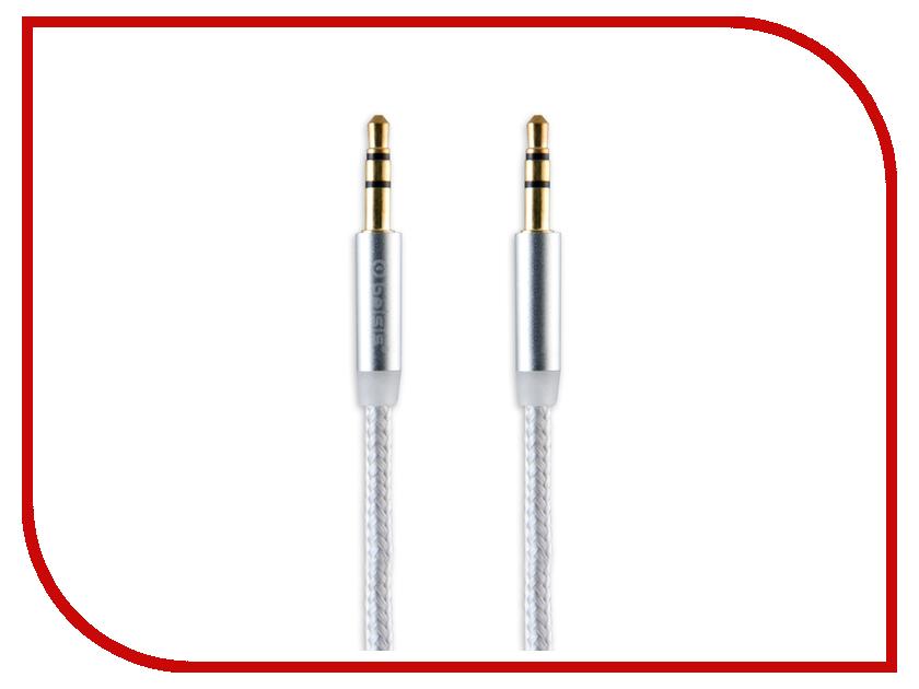 Аксессуар Belsis Jack 3.5mm - Jack 3.5mm 1m White BS3004W аксессуар acv jack 3 5 ac12 3511s 1m silver
